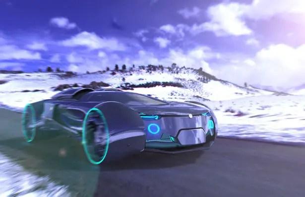 سيارة فولكرون الاختبارية لرشيد تاجيروف وبافل ماكاروف