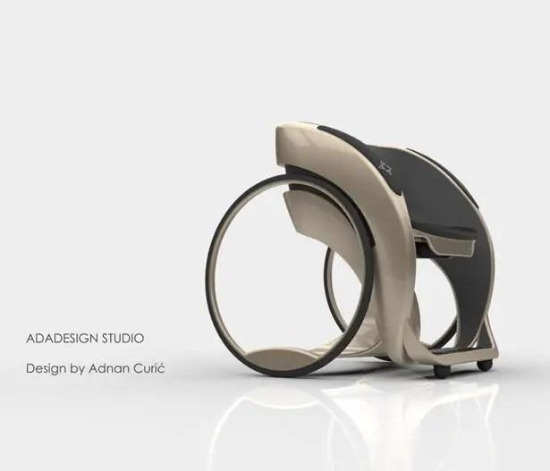 Modern Wheelchair Design by Adnan Curi
