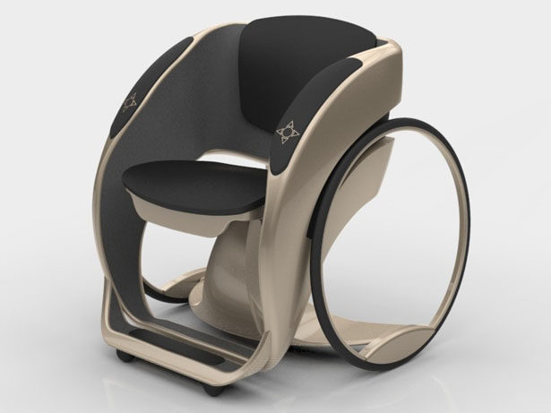 Modern Wheelchair Design by Adnan Curi  Tuvie
