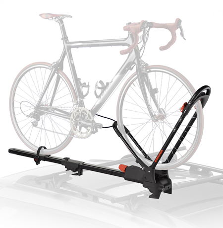 functional top of the car bike rack