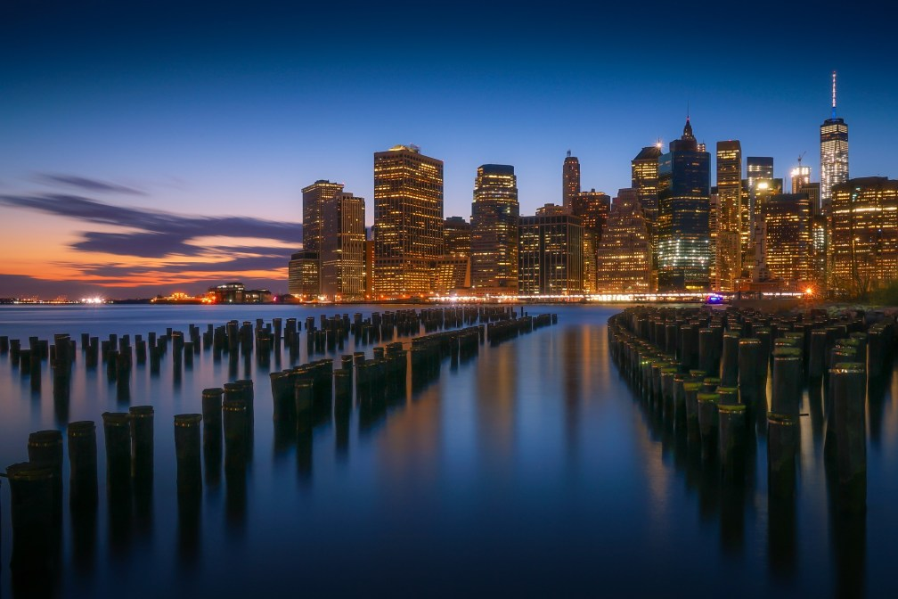 Vistas de Manhattan desde Brooklyn