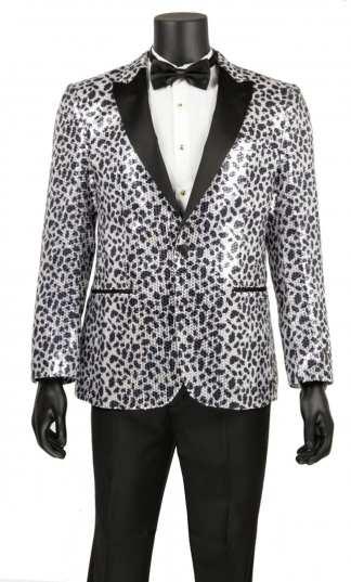 Sequin Camoflage Tuxedos
