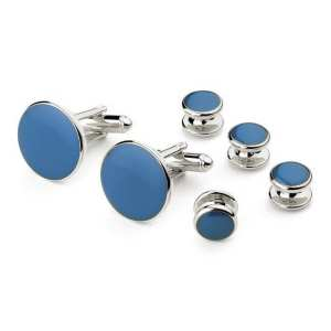 Colored Studs Cuff Links