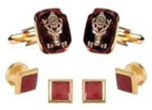 Fraternal Order Cufflinks And Studs