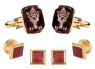 Elks Studs and Cuff Links