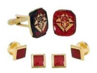 Knights of Columbus Studs Cufflinks