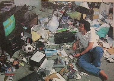 Yoshihiro Togashi, Naoko's husband, pre-marriage...
