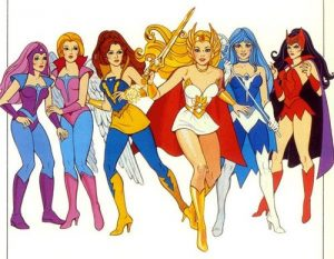 She-Ra and her team
