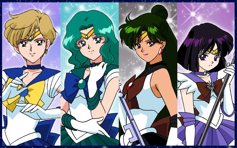 Is Sailor Saturn a Member of the Outer Senshi?