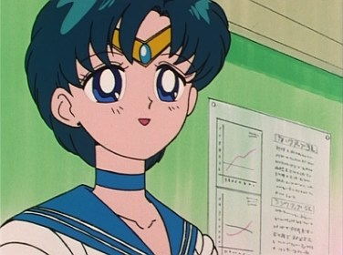 Sailor Mercury trusts cold, hard science over mysticism!
