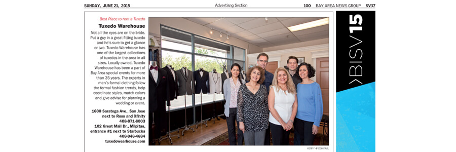 Tuxedo Wearhouse – Voted Best Tuxedo Rental Shop in the Bay Area