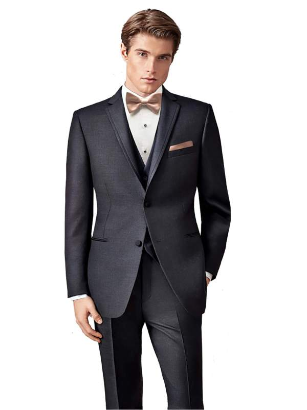 Ultra Slim Charcoal Manhattan Tuxedo