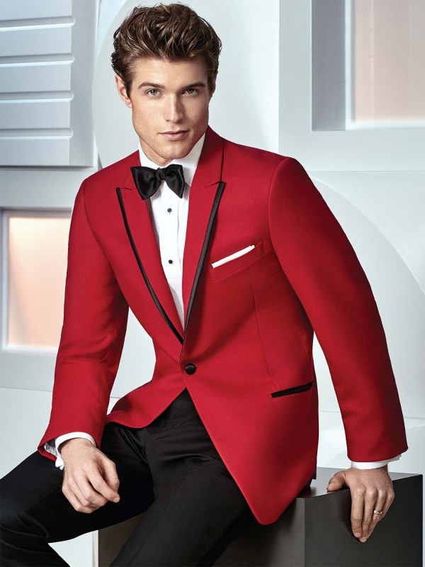 Red Carter Tuxedo