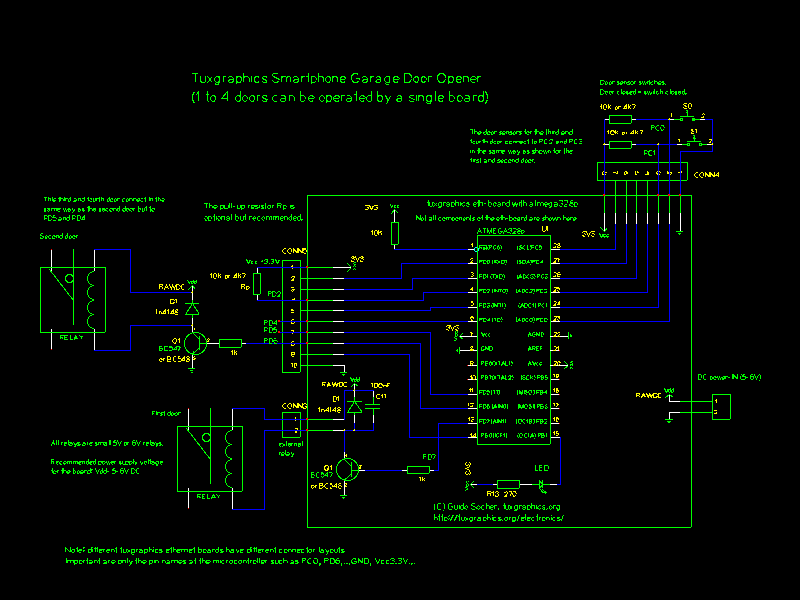 wiring diagram for garage door opener sr20 tuxgraphics.org: smartphone