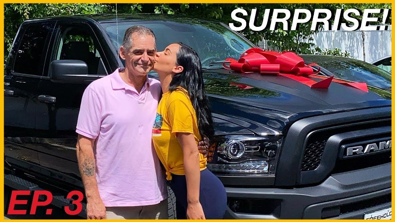 SURPRISED MY DAD WITH HIS DREAM CAR! EP. 3