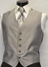 Silver Ralph Lauren Chaps Vest and Tie