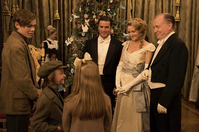 William and Julia entertain