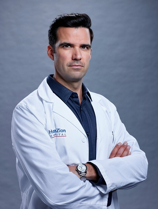 Benjamin Ayres as Dr. Zach Miller