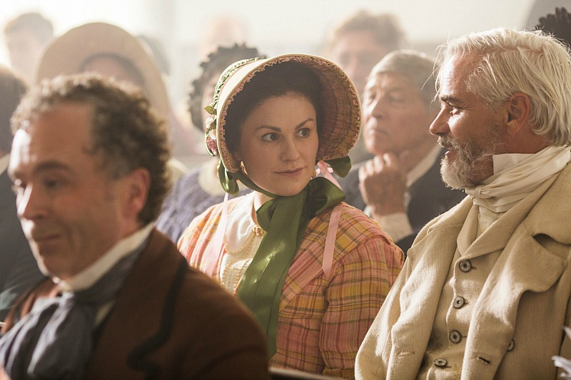 Anna Paquin as Nancy Montgomery and Paul Gross as Thomas Kinnear