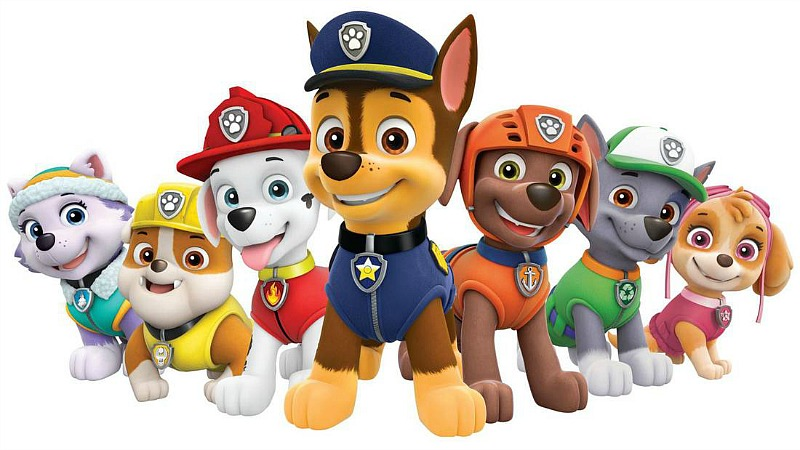 Red Dog Paw Patrol Name