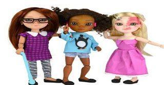 Η πρώτη παιδική κούκλα με αναπηρία