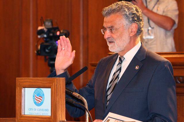 Mayor Jackson speaking