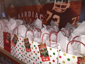 Andrew Hawkins' Holiday Takeover Gift Bags