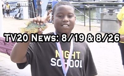 TV20 News: Week of 8/19 & 8/26