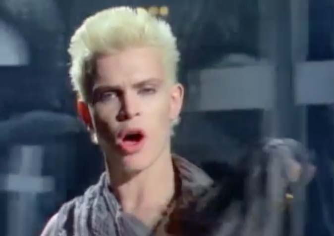 Billy Idol - White Wedding - Official Music Video