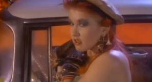 Cyndi Lauper - She Bop - Official Music Video