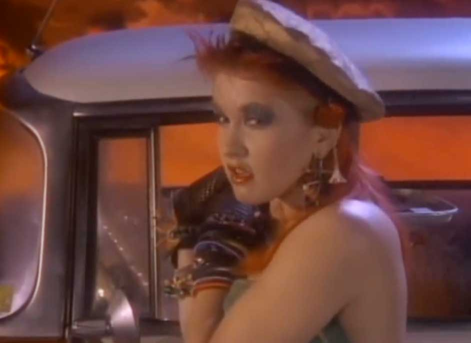 Cyndi Lauper - She Bop - Official Music Video