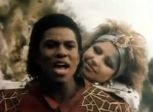 Pia Zadora & Jermaine Jackson - When The Rain Begins To Fall - Official Music Video