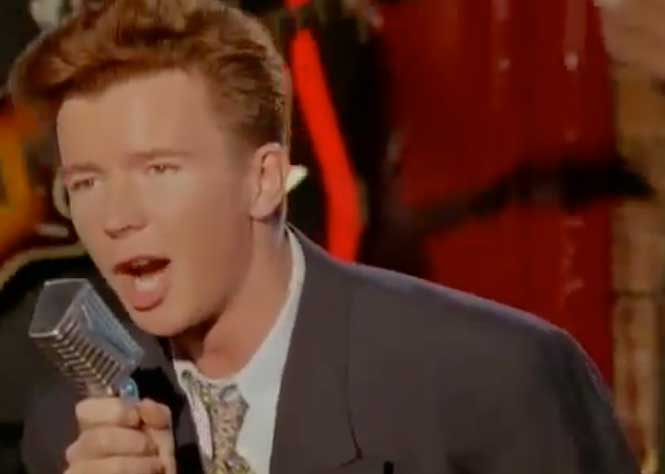 Rick Astley - She Wants To Dance With Me - Official Music Video
