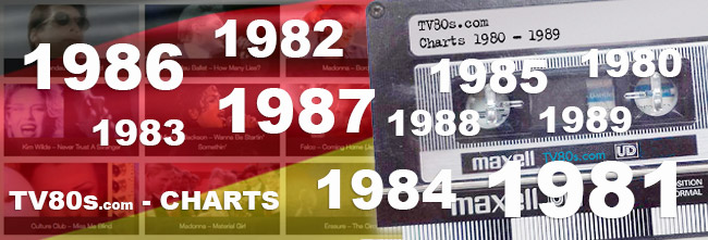 Music Charts Germany - 80s 100 greatest hits