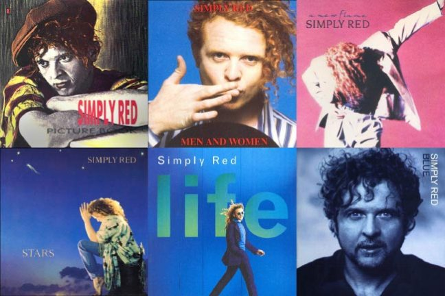 Simply Red 80s discography music video