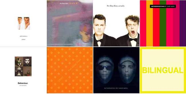 Pet Shop Boys - 80s discography