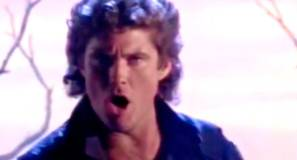 David Hasselhoff Looking For Freedom Official Music Video