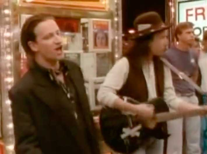 U2 I Still Haven't Found What I'm Looking For Official Music Video