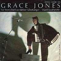Grace Jones - I've Seen That Face Before (Libertango) - Single Cover