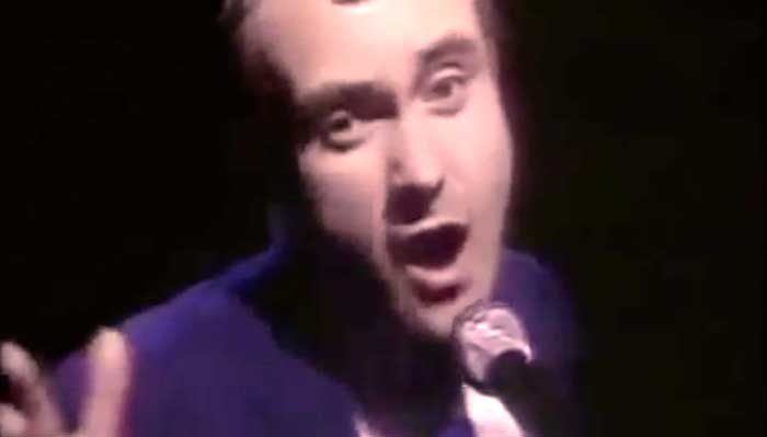 Phil Collins - You Can't Hurry Love - Official Music Video