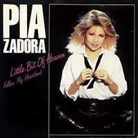 Pia Zadora - Little Bit of Heaven - Single Cover