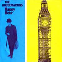 The Housemartins - Happy Hour - Single Cover