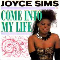 Joyce Sims - Come Into My Life - Single Cover
