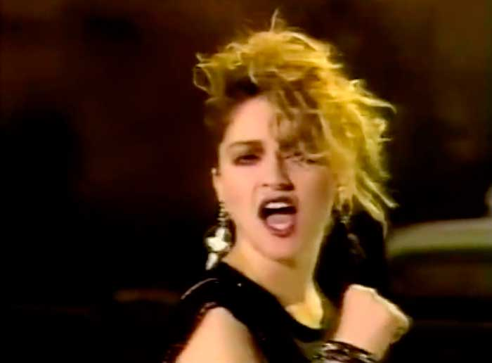 madonna holiday official music video