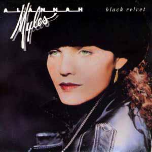 Alannah Myles Black Velvet Single Cover