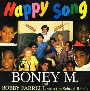 Boney M Happy Song Single Cover