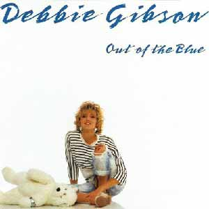 Debbie Gibson Out Of The Blue Single Cover