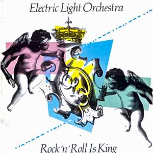 Electric Light Orchestra - Rock n' Roll Is King - Single Cover - ELO