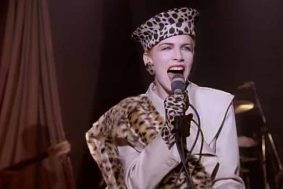 Eurythmics Right By Your Side Official Music Video