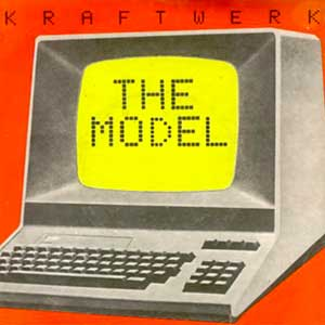 Kraftwerk The Model Single Cover